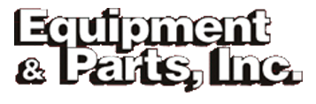 Equipment & Parts, Inc logo